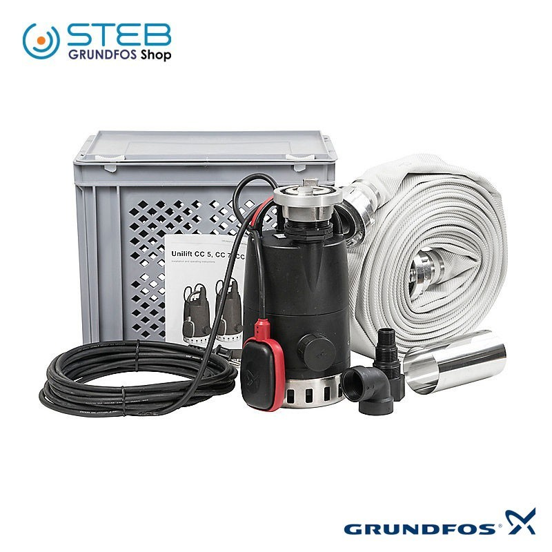 Kit per raccolta e trasferimento acque chiare Multibox B-CC7 Grundfos