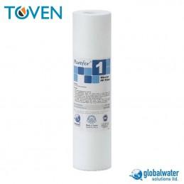 "Filtro sedimento PP WaterPro 10"" x 20 micron"