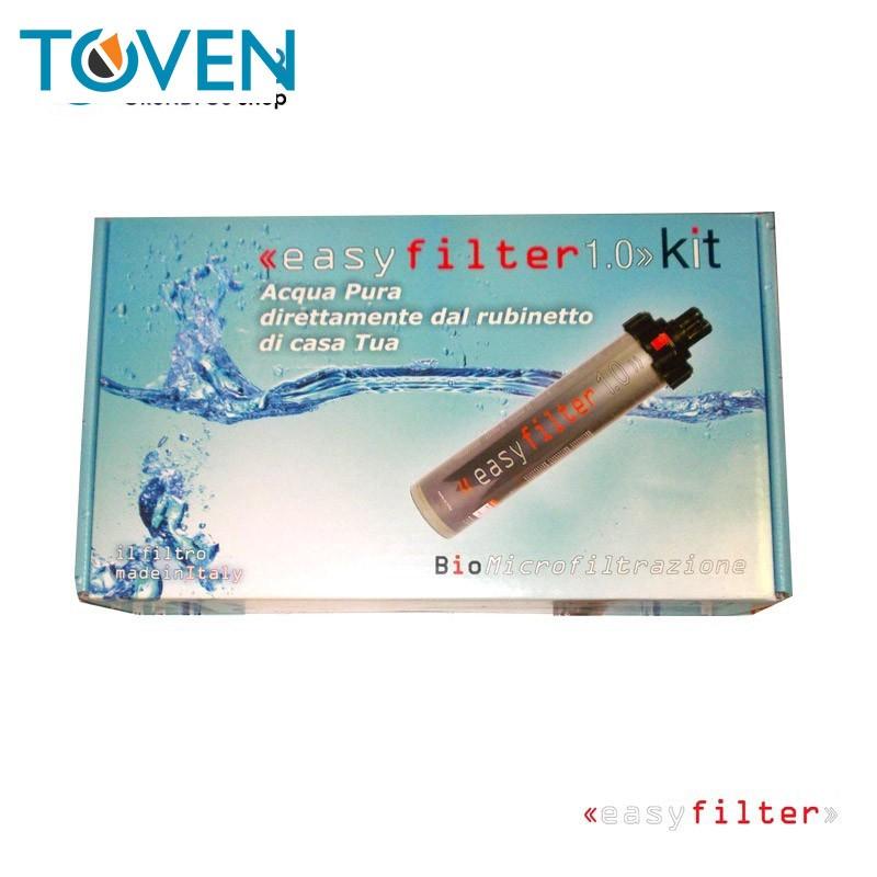 Easyfilter 1.0 - Sistema di filtrazione a carboni attivi da lavello per acqua da bere