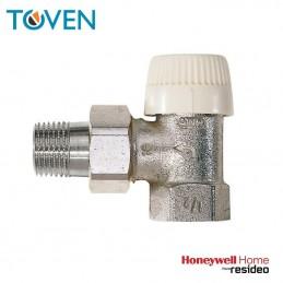 Valvola termostatizzabile ad angolo - 3/8 ferro - V2020EVS10 Honeywell
